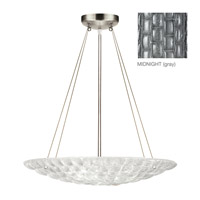 Fine Art Lamps Constructivism 3 Light Pendant in Silver Leaf 843040-1ST
