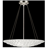 Fine Art Lamps Constructivism 3 Light Pendant in Silver Leaf 843040ST