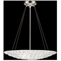 Fine Art Lamps 843040ST Constructivism 3 Light 20 inch Silver Pendant Ceiling Light