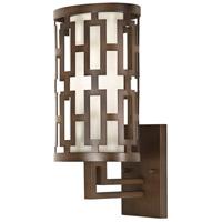 Fine Art Lamps 843481ST River Oaks 1 Light 17 inch Bronze Outdoor Wall Sconce