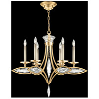 Fine Art Lamps 843540-22ST Marquise 6 Light 26 inch Gold Chandelier Ceiling Light