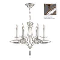 Fine Art Lamps Marquise 6 Light Chandelier in Antique Hand Rubbed Bronze 843540-32ST