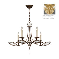 Fine Art Lamps Marquise 8 Light Chandelier in Florentine Brushed Gold Leaf 843640-22ST