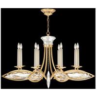 Fine Art Lamps 843940-22ST Marquise 8 Light 42 inch Florentine Brushed Gold Leaf Chandelier Ceiling Light