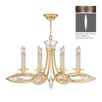 Fine Art Lamps Marquise 8 Light Chandelier in Antique Hand Rubbed Bronze 843940-31ST