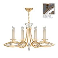 Fine Art Lamps Marquise 8 Light Chandelier in Antique Hand Rubbed Bronze 843940-32ST