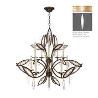 Fine Art Lamps Marquise 10 Light Chandelier in Florentine Brushed Gold Leaf 844140-21ST