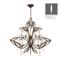 Marquise 10 Light 47 inch Antique Hand Rubbed Bronze Chandelier Ceiling Light