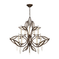 Fine Art Lamps Marquise 10 Light Chandelier in Antique Hand Rubbed Bronze 844140-32ST