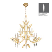 Fine Art Lamps Marquise 16 Light Chandelier in Florentine Brushed Gold Leaf 844240-21ST