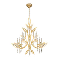 Marquise 16 Light 56 inch Florentine Brushed Gold Leaf Chandelier Ceiling Light