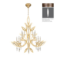 Fine Art Lamps Marquise 16 Light Chandelier in Antique Hand Rubbed Bronze 844240-31ST