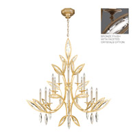 Fine Art Lamps Marquise 16 Light Chandelier in Antique Hand Rubbed Bronze 844240-32ST