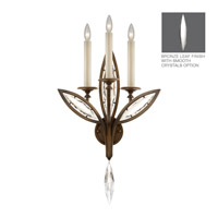 Fine Art Lamps Marquise 3 Light Wall Sconce in Antique Hand Rubbed Bronze 844650-31ST