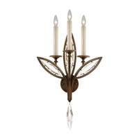 Fine Art Lamps Marquise 3 Light Wall Sconce in Antique Hand Rubbed Bronze 844650-32ST