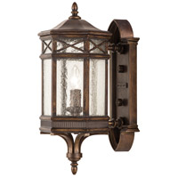 Holland Park 1 Light 18 inch Warm Antique Bronze Outdoor Wall Mount
