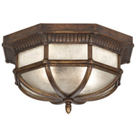 Fine Art Lamps Holland Park 2 Light Outdoor Flush Mount in Warm Antique Bronze 845282ST