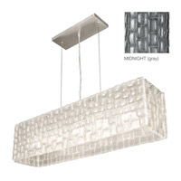 Constructivism 5 Light 10 inch Silver Leaf Pendant Ceiling Light