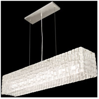 Constructivism 7 Light 10 inch Silver Leaf Pendant Ceiling Light