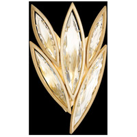Marquise 4 Light 13 inch Florentine Brushed Gold Leaf Wall Sconce Wall Light