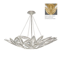 Marquise 13 Light 44 inch Florentine Brushed Gold Leaf Pendant Ceiling Light