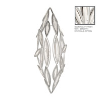 Fine Art Lamps Marquise 7 Light Pendant in Platinized Silver Leaf 849640-11ST