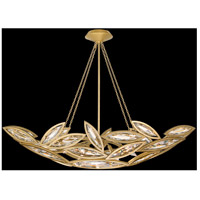 Marquise 7 Light 50 inch Florentine Brushed Gold Leaf Pendant Ceiling Light