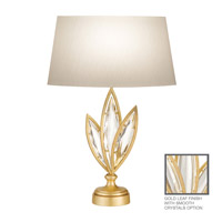Fine Art Lamps Marquise 1 Light Table Lamp in Florentine Brushed Gold Leaf 849810-21ST