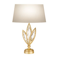 Fine Art Lamps Marquise 1 Light Table Lamp in Florentine Brushed Gold Leaf 849810-22ST