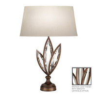 Fine Art Lamps Marquise 1 Light Table Lamp in Antique Hand Rubbed Bronze 849810-31ST