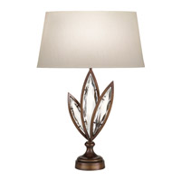 Fine Art Lamps Marquise 1 Light Table Lamp in Antique Hand Rubbed Bronze 849810-32ST