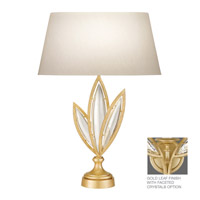 Fine Art Lamps Marquise 1 Light Table Lamp in Florentine Brushed Gold Leaf 850010-22ST
