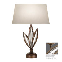 Fine Art Lamps Marquise 1 Light Table Lamp in Antique Hand Rubbed Bronze 850010-32ST