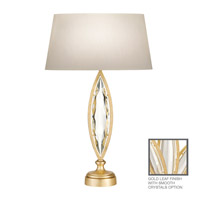 Fine Art Lamps Marquise 1 Light Table Lamp in Florentine Brushed Gold Leaf 850210-21ST