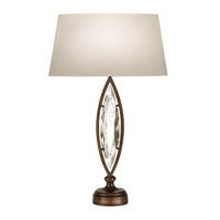 Fine Art Lamps Marquise 1 Light Table Lamp in Antique Hand Rubbed Bronze 850210-32ST
