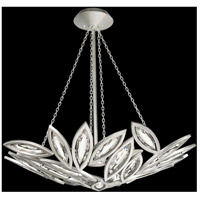 Marquise 8 Light 32 inch Platinized Silver Leaf Pendant Ceiling Light