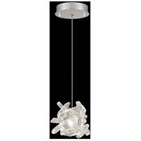 Fine Art Lamps 852240-102LD Natural Inspirations 1 Light 6 inch Silver Drop Light Ceiling Light