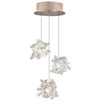 Fine Art Lamps 852340-202LD Natural Inspirations Led 3 Light 9 inch Gold Drop Light Ceiling Light