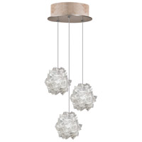 Fine Art Lamps 852340-204LD Natural Inspirations LED 3 Light 9 inch Gold Drop Light Ceiling Light photo thumbnail