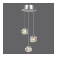 Natural Inspirations 3 Light 9 inch Silver Drop Light Ceiling Light