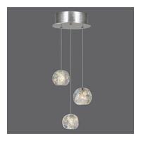 Fine Art Lamps 852340-106ST Natural Inspirations 3 Light 9 inch Silver Pendant Ceiling Light
