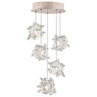 Fine Art Lamps 852440-202ST Natural Inspirations 5 Light 12 inch Gold Drop Light Ceiling Light