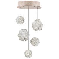 Fine Art Lamps 852440-205ST Natural Inspirations 5 Light 12 inch Gold Pendant Ceiling Light