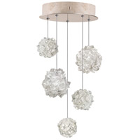 Fine Art Lamps 852440-205LD Natural Inspirations 5 Light 12 inch Gold Pendant Ceiling Light
