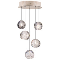 Fine Art Lamps 852440-206LD Natural Inspirations 5 Light 12 inch Gold Pendant Ceiling Light