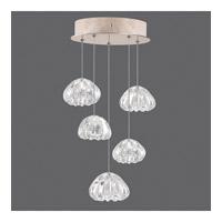Fine Art Lamps 852440-207ST Natural Inspirations 5 Light 12 inch Gold Drop Light Ceiling Light