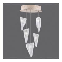 Fine Art Lamps 852440-208ST Natural Inspirations 5 Light 12 inch Gold Drop Light Ceiling Light