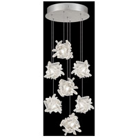 Fine Art Lamps 852640-102LD Natural Inspirations 7 Light 14 inch Silver Pendant Ceiling Light