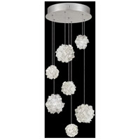 Fine Art Lamps 852640-105LD Natural Inspirations 7 Light 14 inch Silver Pendant Ceiling Light