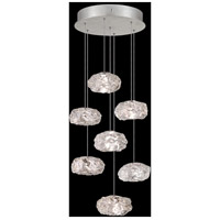 Fine Art Lamps 852640-11LD Natural Inspirations 7 Light 14 inch Silver Pendant Ceiling Light